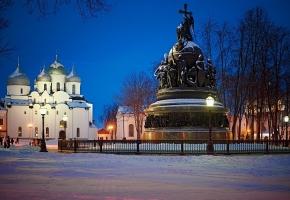 Сердце города (Великий Новгород, 2 дня + ж/д)