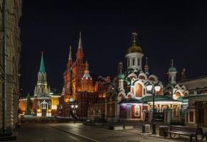 Добро пожаловать в Москву - программа максимум (гарантированный сборный тур, 4 дня + ж/д или авиа)