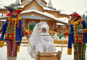 Новогодняя сказка в гостях у Деда Мороза (4 дня + ж/д)