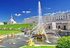 Дворцы и парки (5 дней + ж/д)
