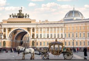 Три дня с Петербургом (3 дня + ж/д, октябрь-апрель)
