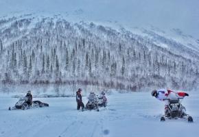Земля Лапландия. Снегоходный тур (5 дней + ж/д или авиа)