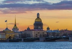 Весенний Петербург (4 дня + ж/д)